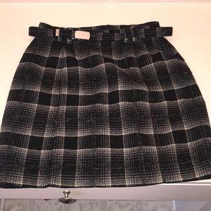 Old Navy Tartan Mini Skirt